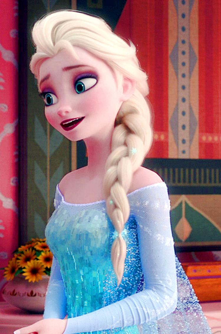 Frozen Fever Elsa Phone Wallpaper elsa and anna 38787380 750 1134png 750x1134