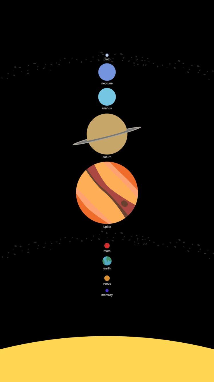 digital art Universe Space Space art Planet Solar System Sun 748x1330