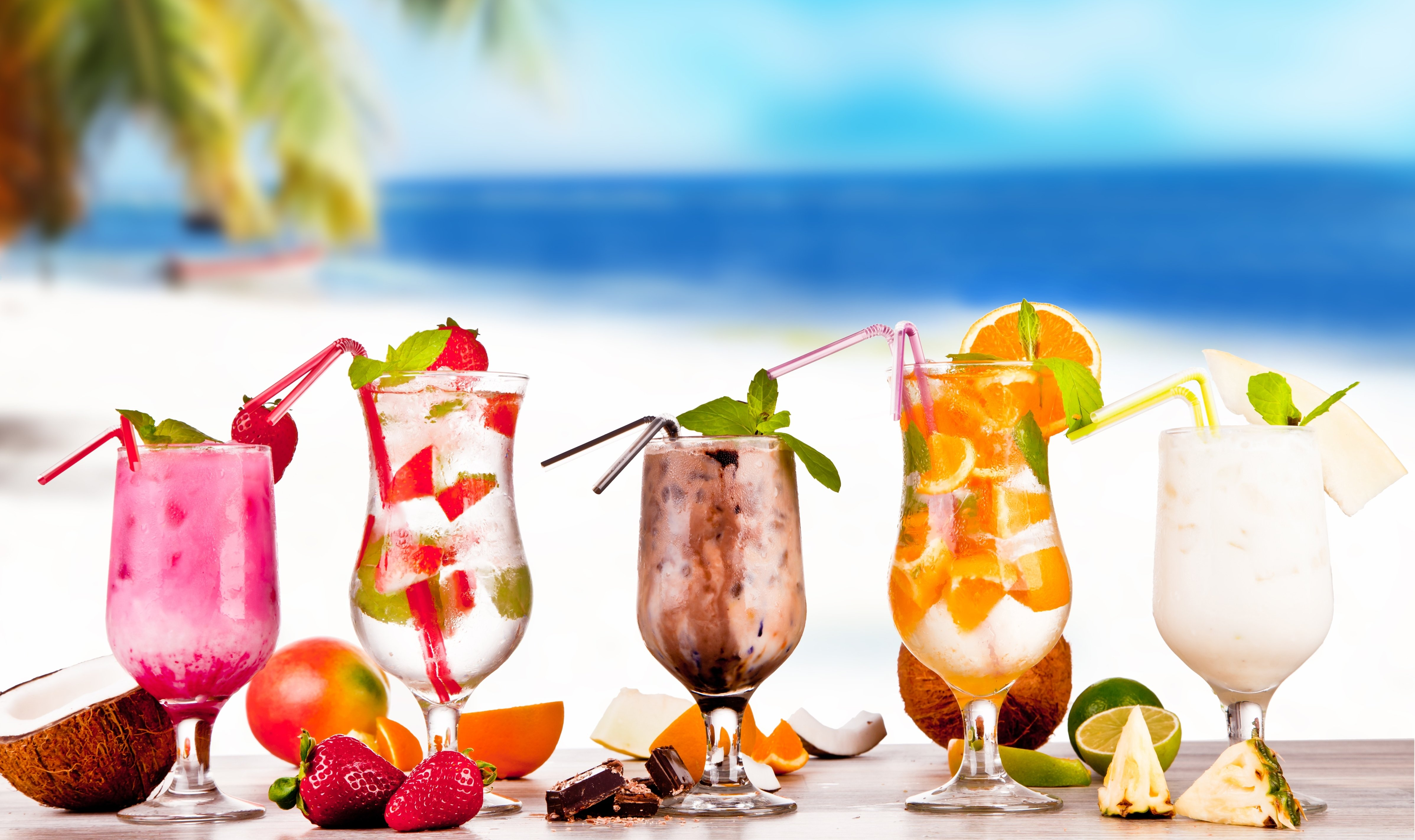 sweet tropical cocktail x wallpaper Car Pictures 4790x2844