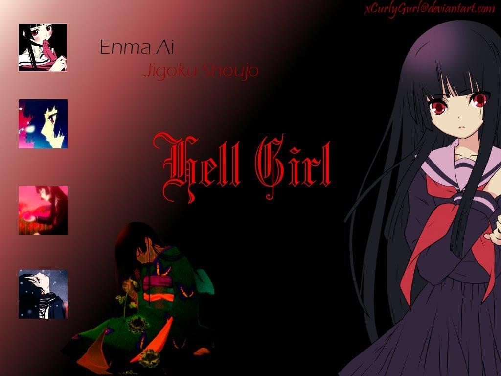 Enma Ai Hell Girl Wallpaper by xCurlyGurl 1024x768