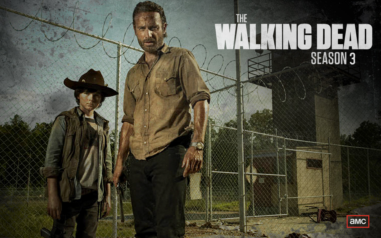 the walking dead wallpaper season 3 zombie5 1440x900