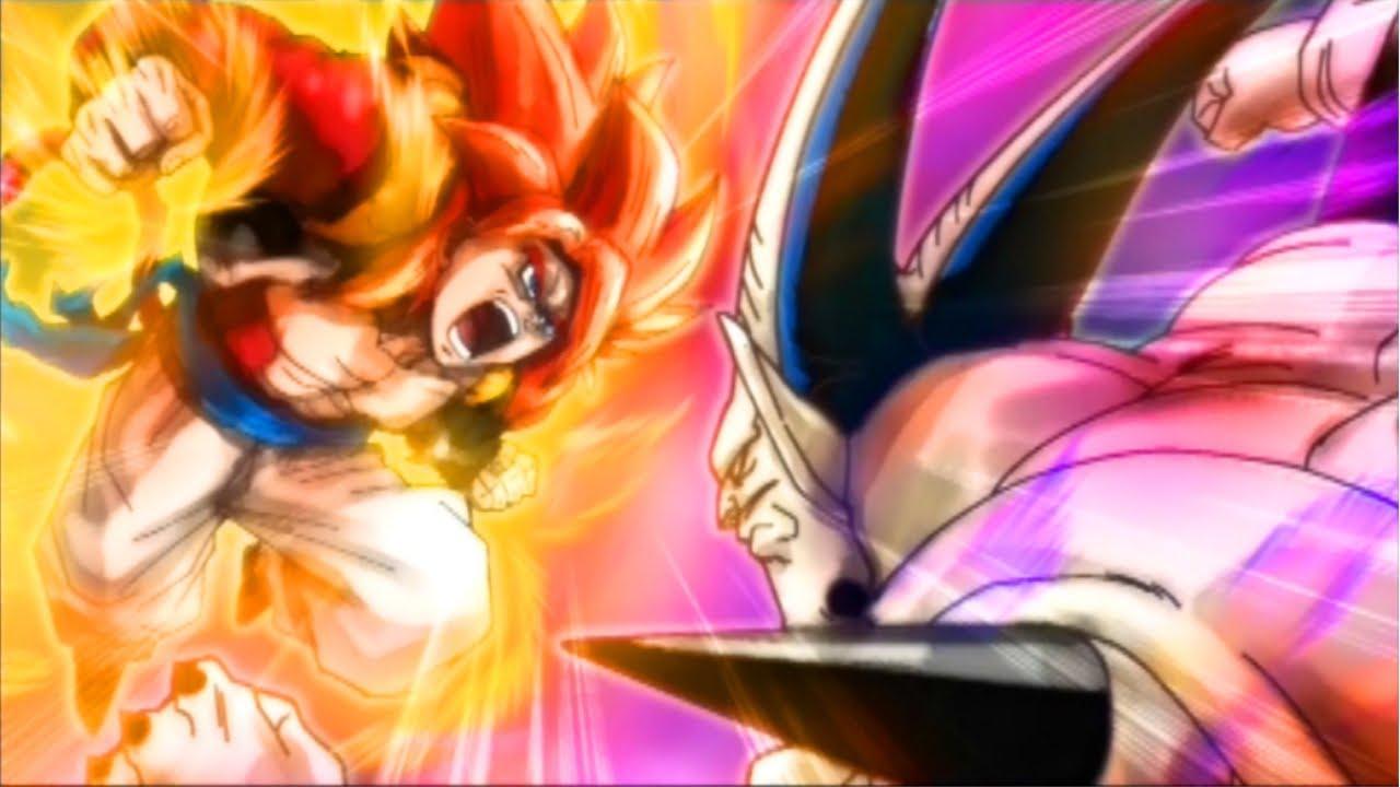 DBZ Ultimate Tenkaichi   Gogeta Super Saiyan 4 vs Omega Shenron 1280x720