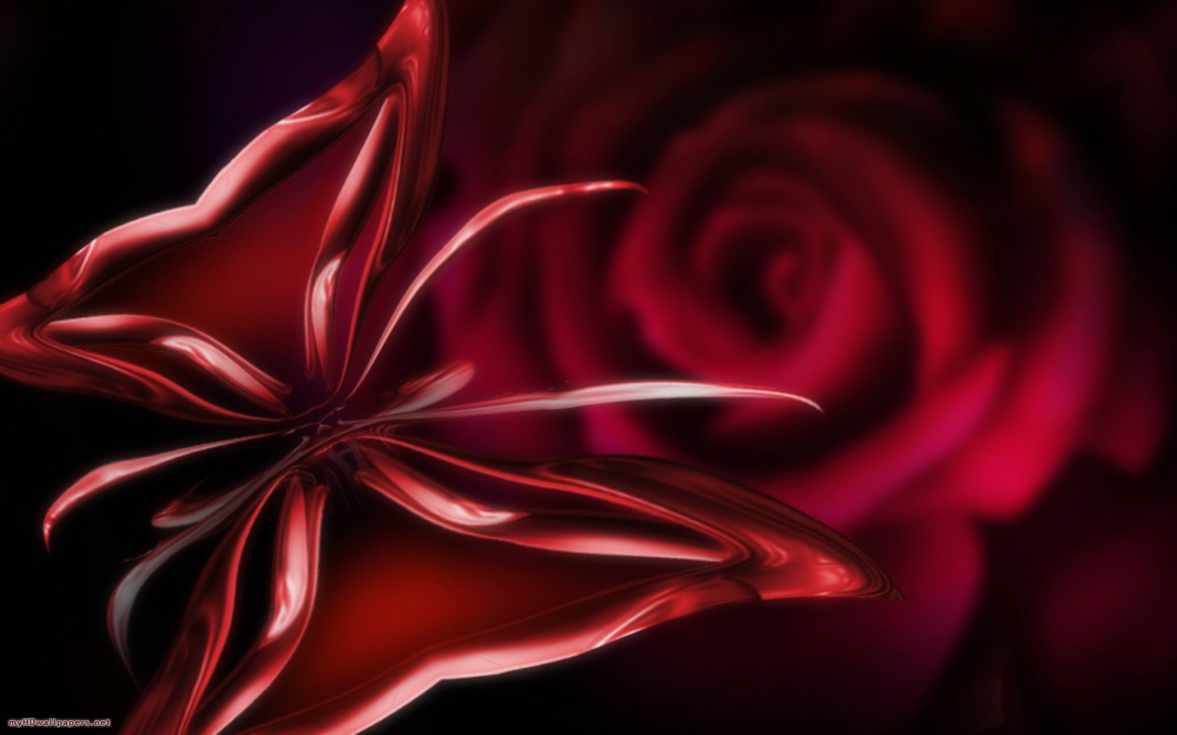 Red 3D wallpapers Red 3D background   Page 11 1680x1050