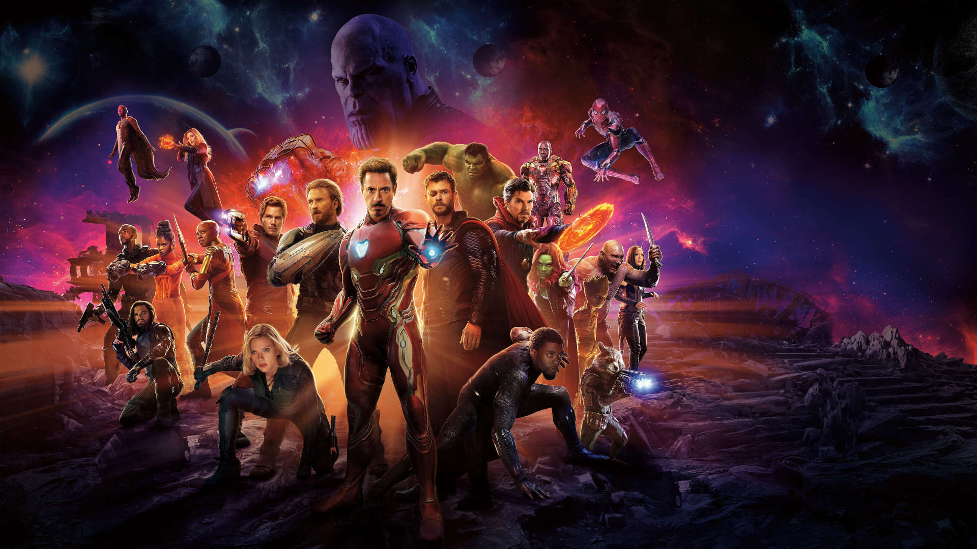 Avengers Infinity War Wallpapers 33 images   Wallpaper Stream 1920x1080