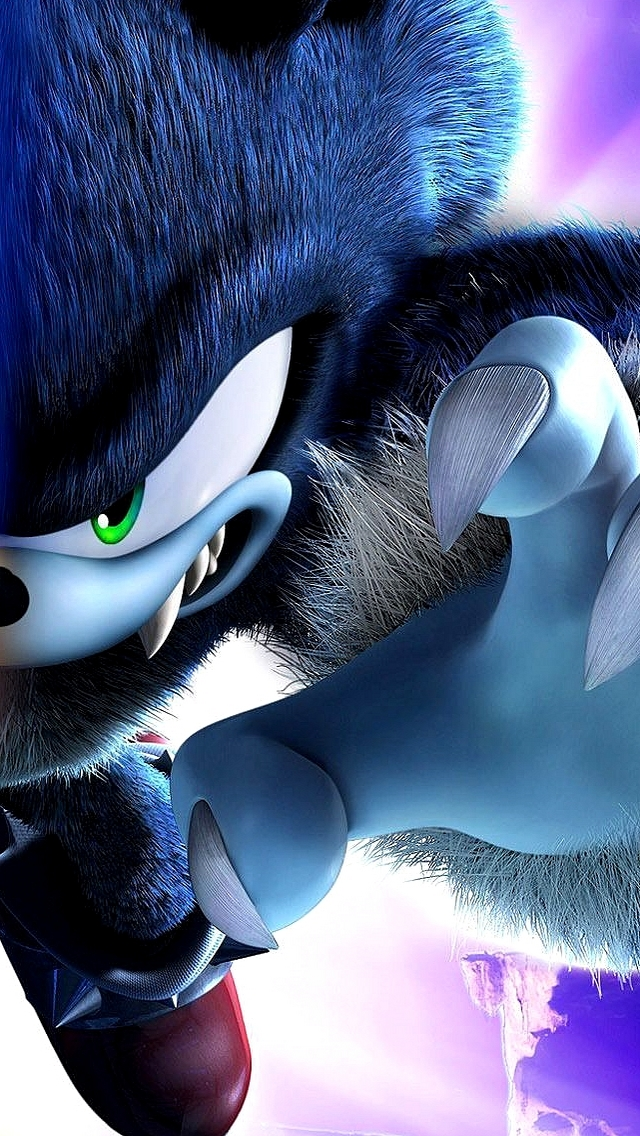 Evil Sonic The Hedgehog IPhone 5 Wallpaper 640x1136 640x1136