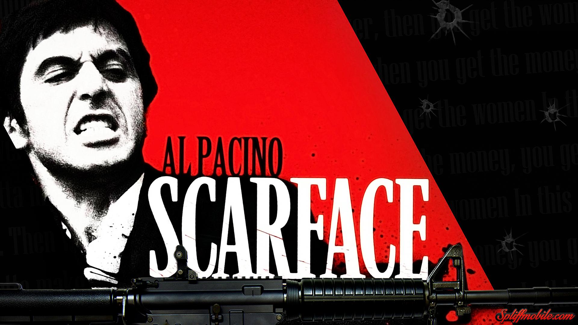 Scarface wallpaper hd wallpapersafari - Scarface background ...