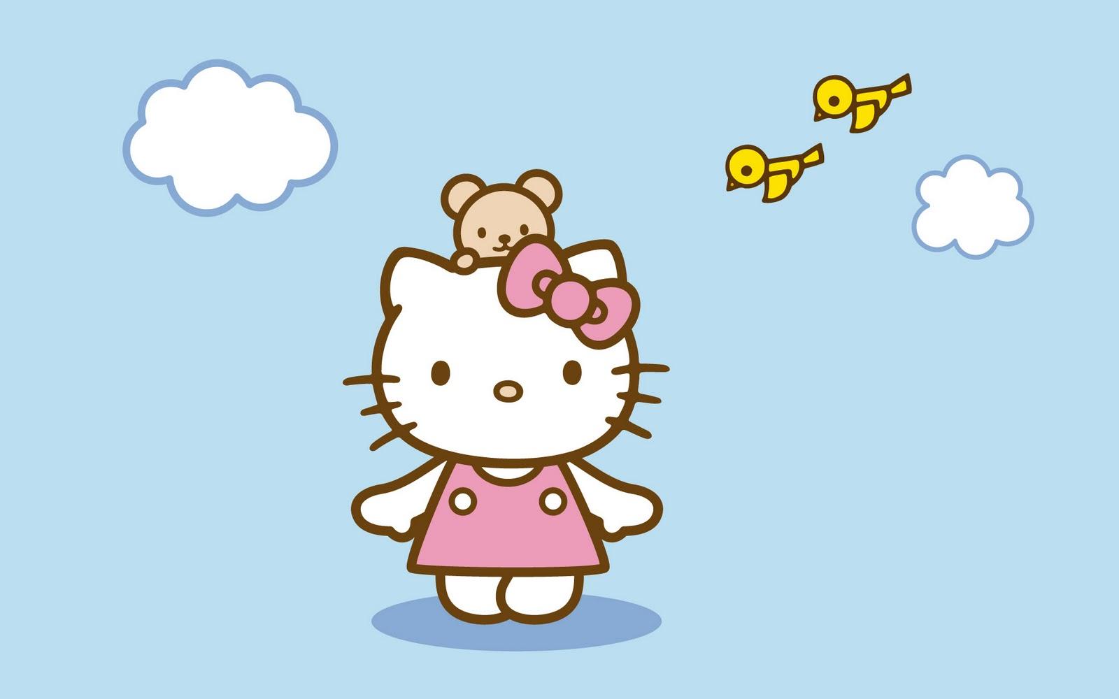 hello kitty wallpaper hello kitty wallpaper 1600x1000