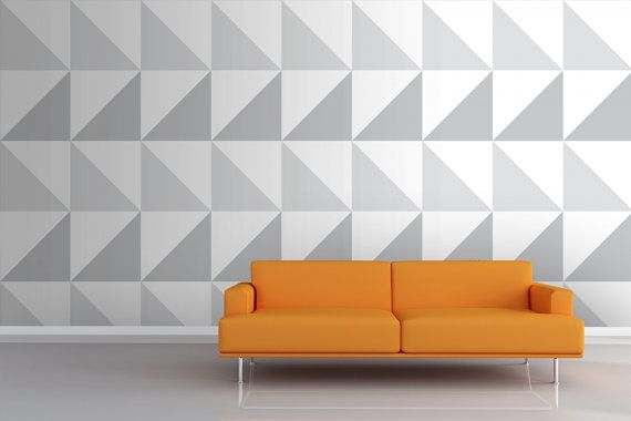 Geometric Pattern Self Adhesive Vinyl Wallpaper D174 570x380