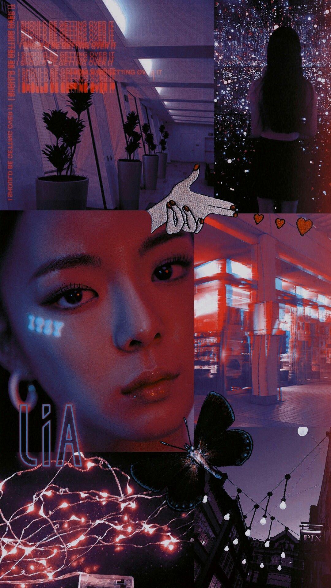 lia aesthetic wallpaper itzy Animes wallpapers Tela de fundo 1080x1920