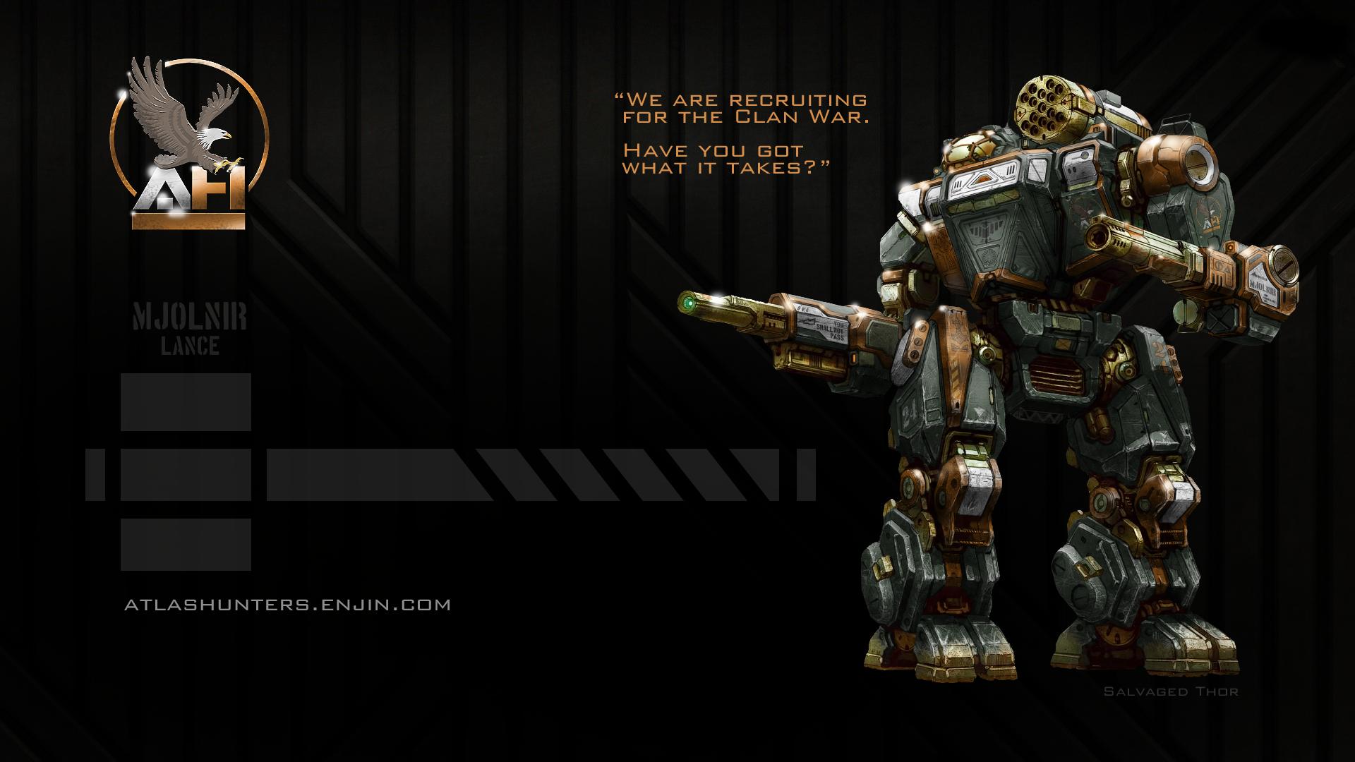 MechWarrior Online atlashunters Page 3 1920x1080