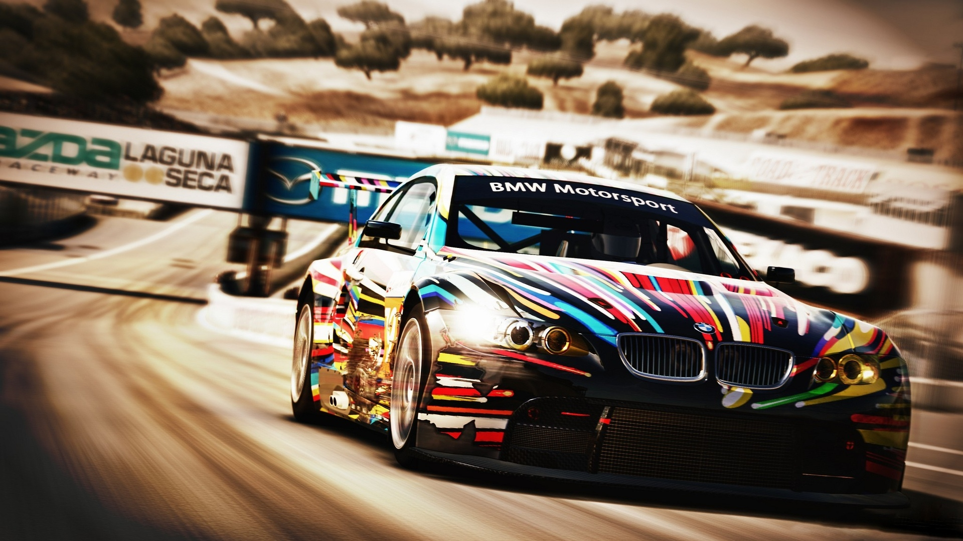 Download Forza Motorsports Vehicles Cars Bmw Racing Race Car Track