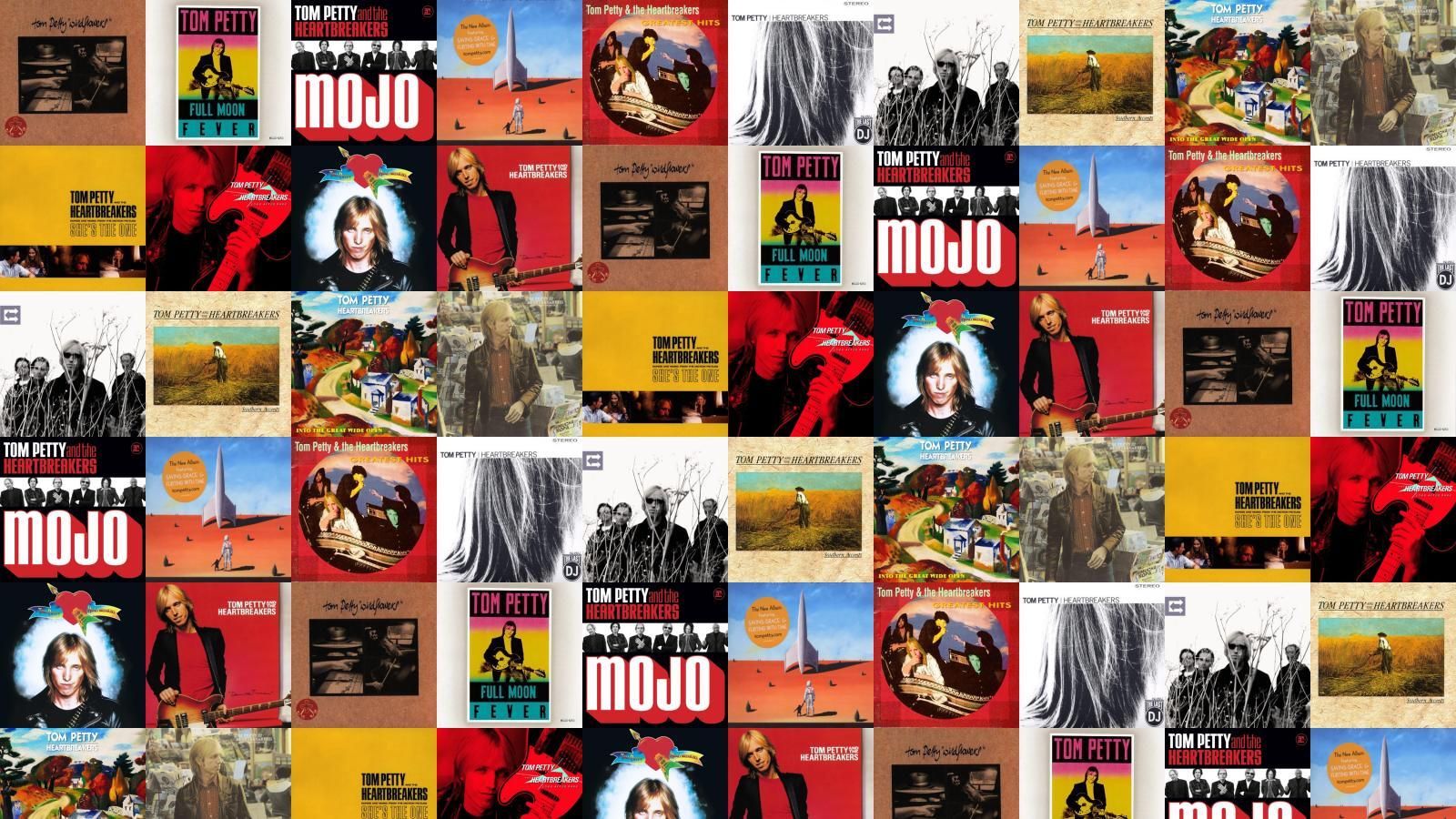 Tom Petty Wildflowers Tom Petty Full Moon Wallpaper Tiled Desktop 1600x900