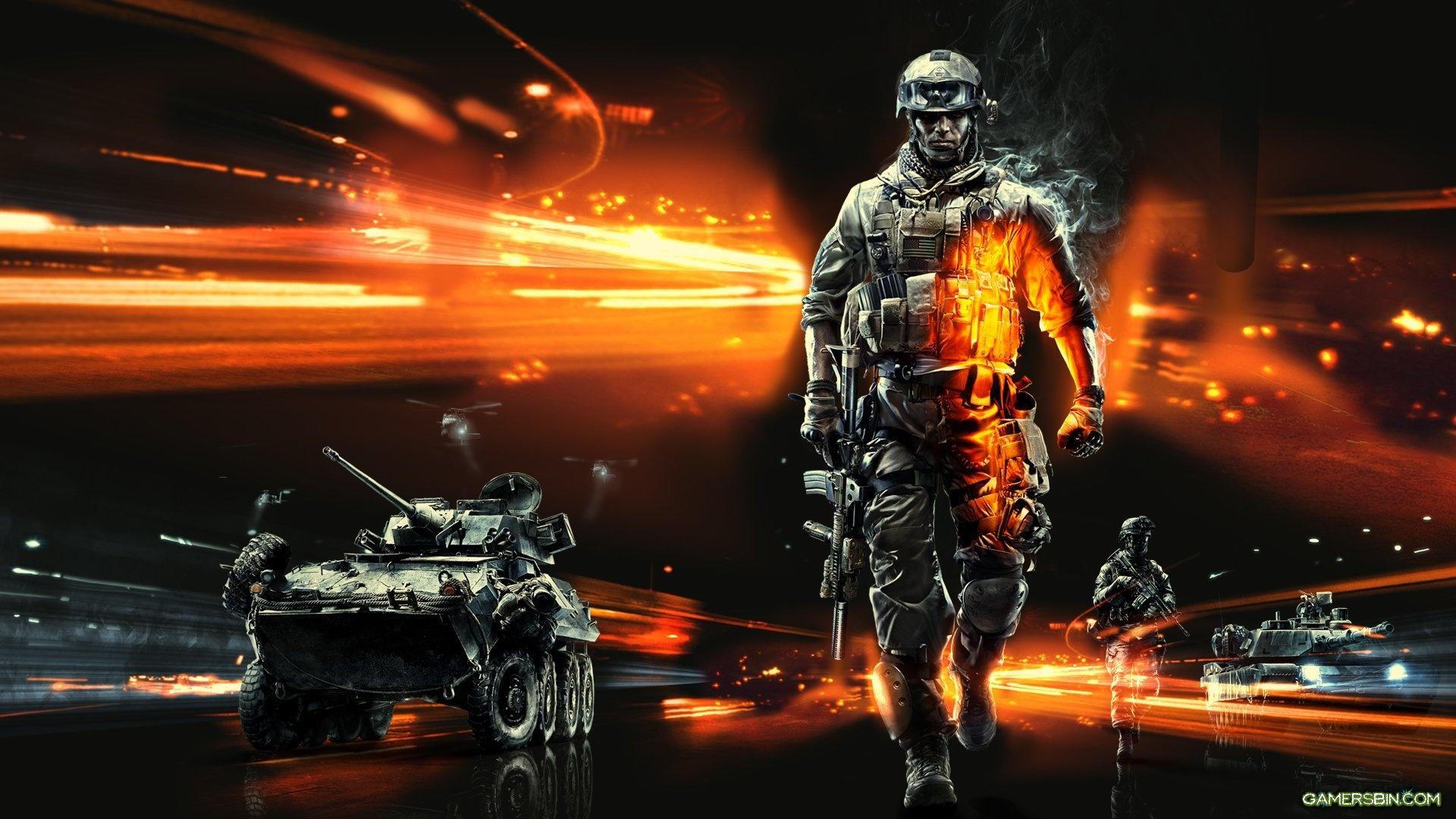 75906 Battlefield 3 Wallpaper HD soldiers armsjpg 1920x1080