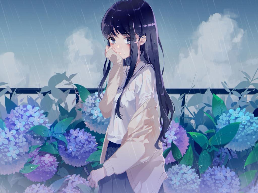 [41+] Anime Rain Wallpapers on WallpaperSafari