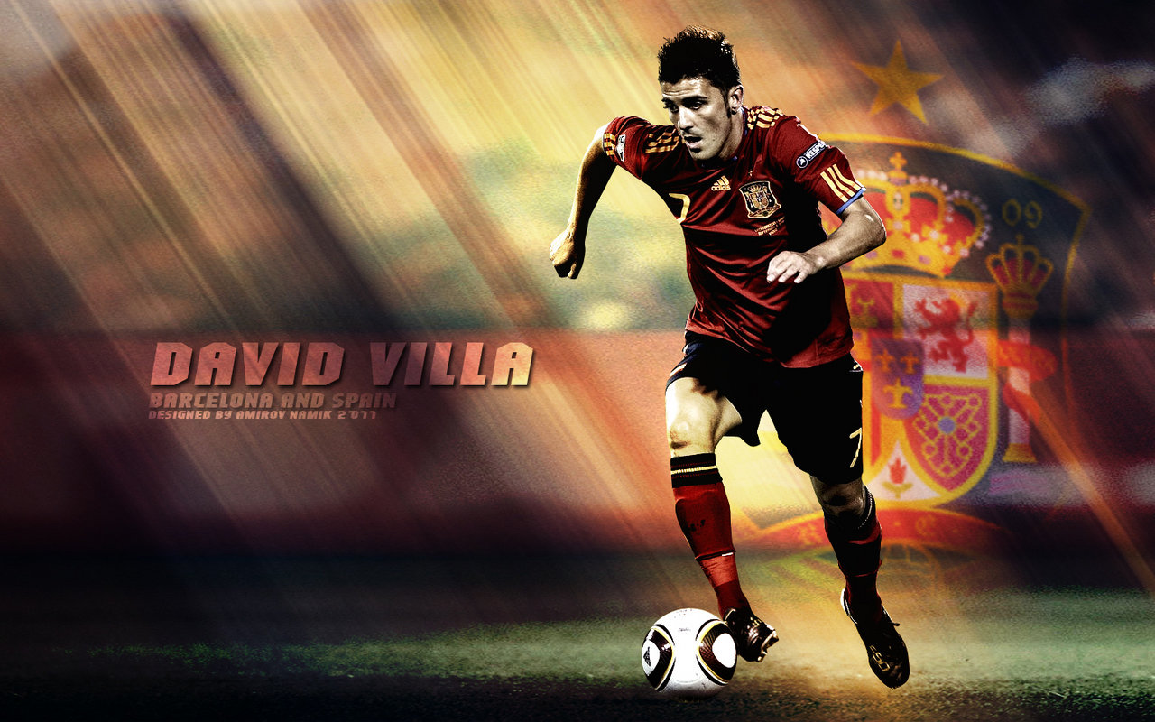 David Villa Hd Wallpapers 2012 Its All About Wallpapers 1280x800