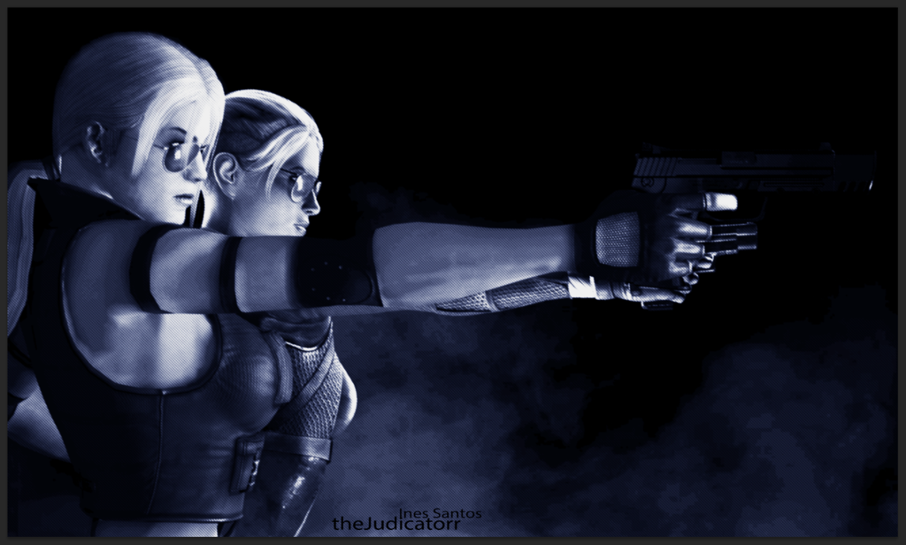 Sonya and Cassie Cage by yneziinha 1024x616