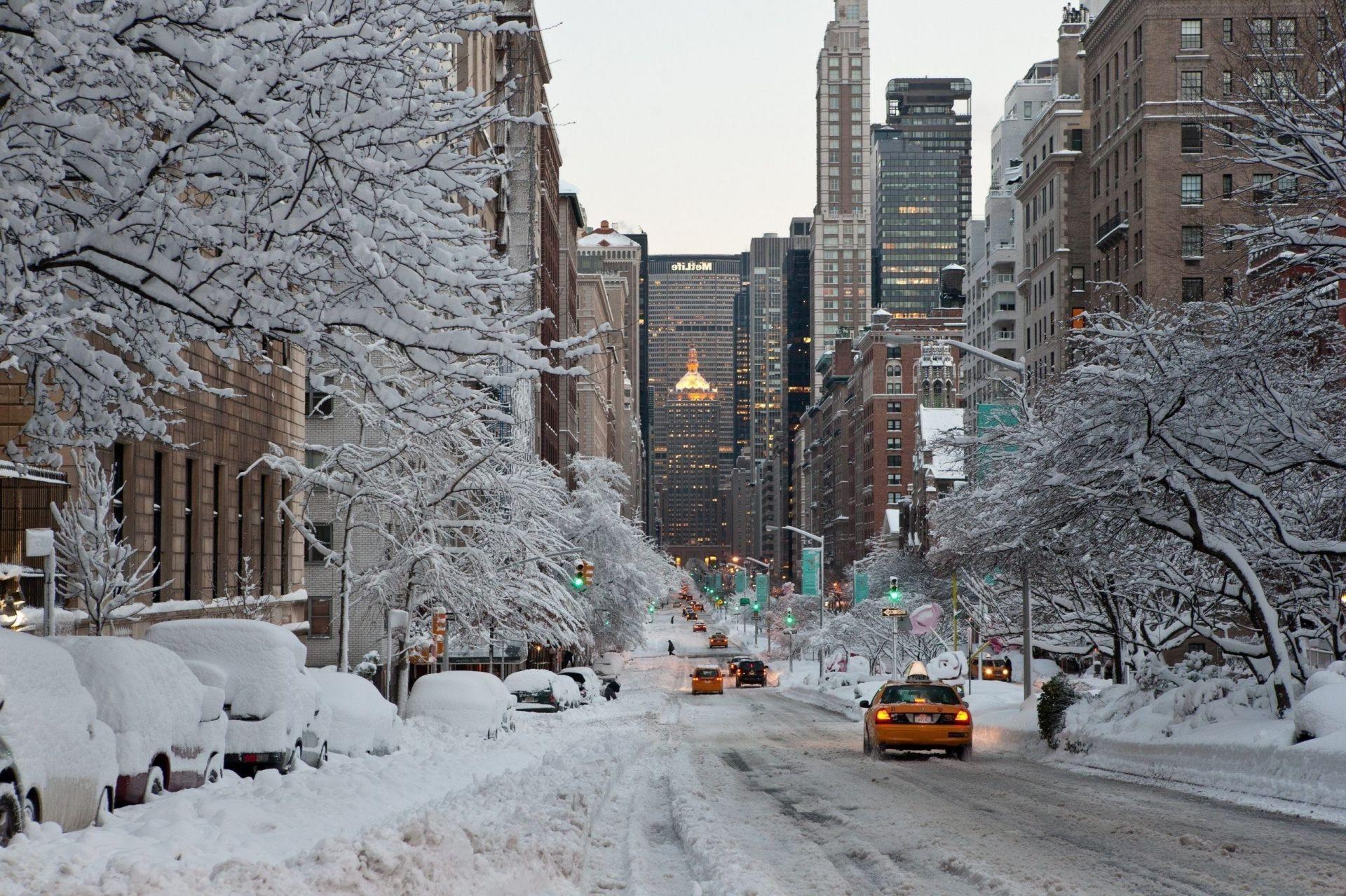 New York City Winter Wallpaper 1920x1279