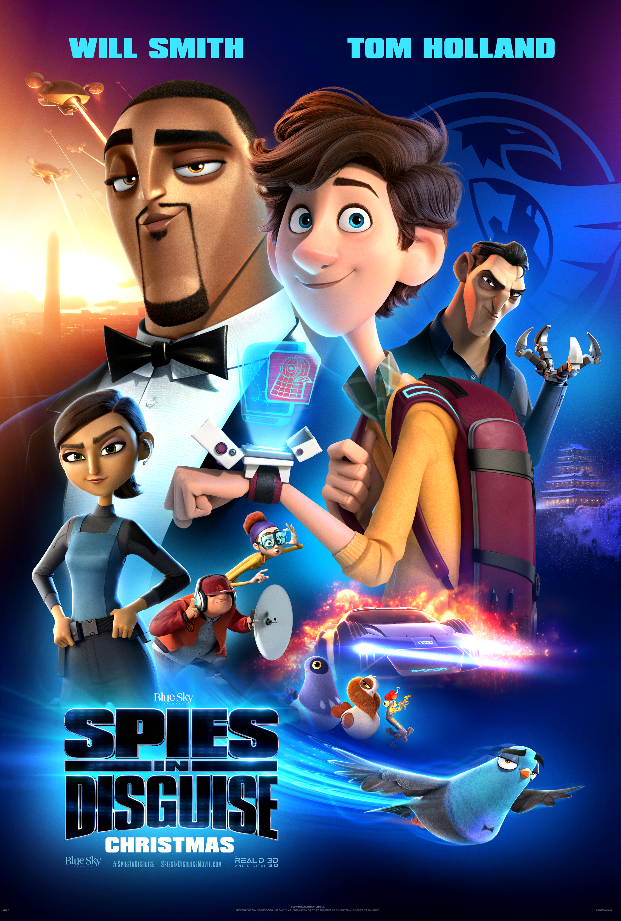 Spies in Disguise 2019   IMDb 2025x3000