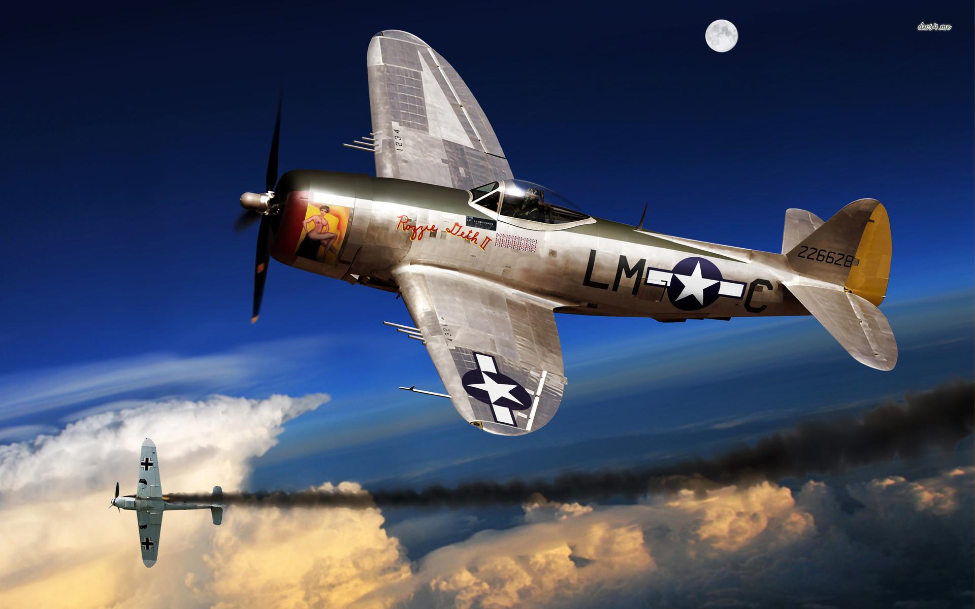 Republic P 47 Thunderbolt wallpaper   Aircraft wallpapers   41819 1920x1200