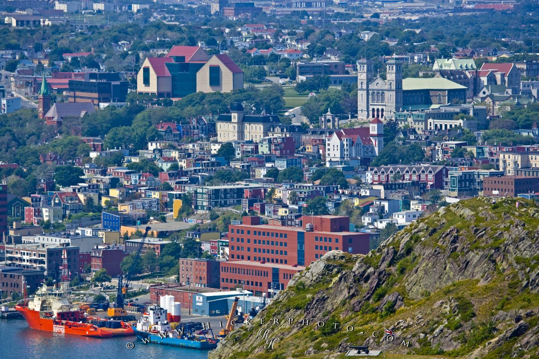 wallpaper background St Johns City Avalon Peninsula Newfoundland 1440x960