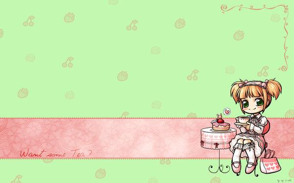 Cute Chibi Wallpaper by batmanxlover 600x375