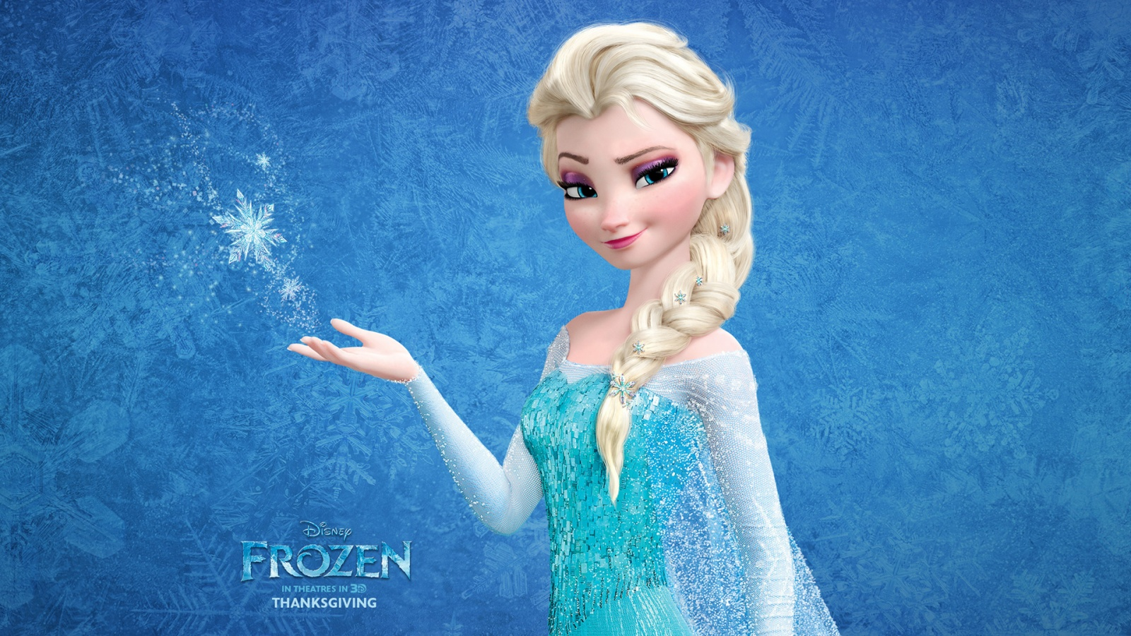 Snow Queen Elsa in Frozen Wallpapers HD Wallpapers 1600x900