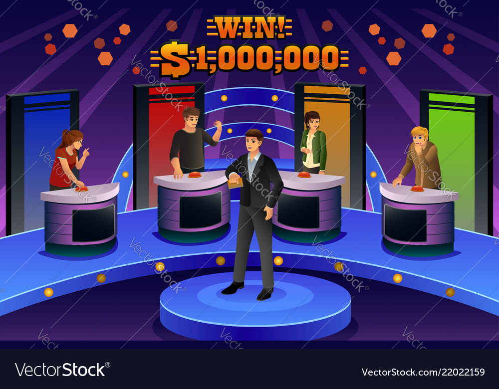 Game Show Host Vector Images 53 1000x780