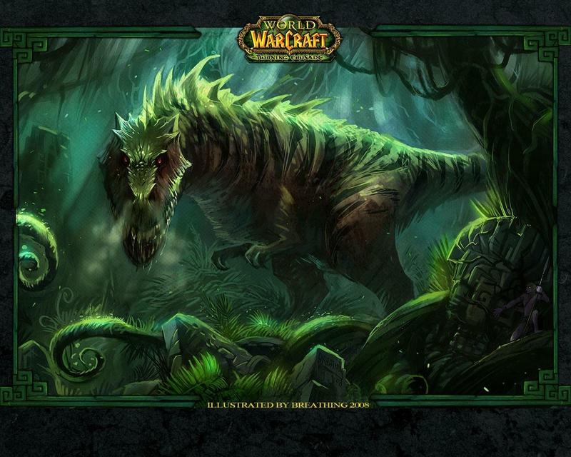 green t rex t rex Video Games World of Warcraft HD Wallpaper 800x640