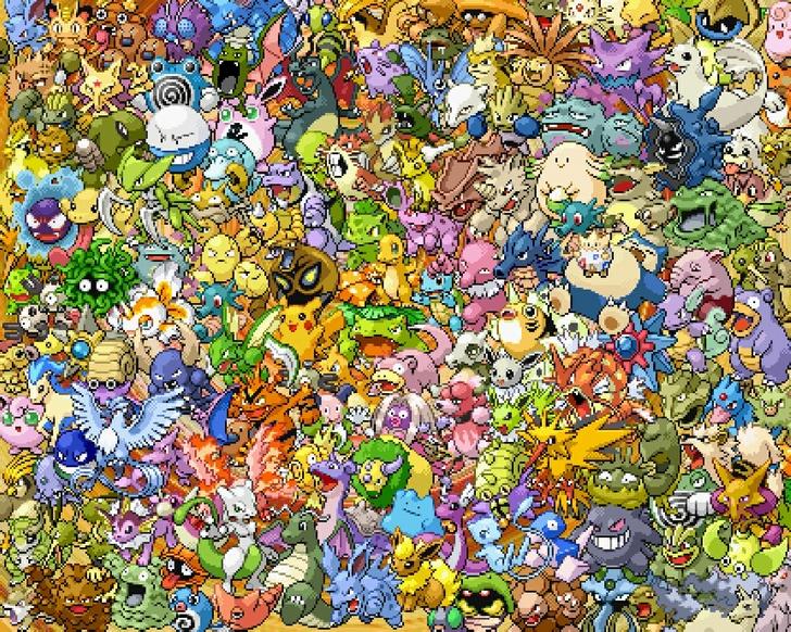 pokemon shiny pokemon 1280x1024 wallpaper High Quality WallpapersHigh 728x582