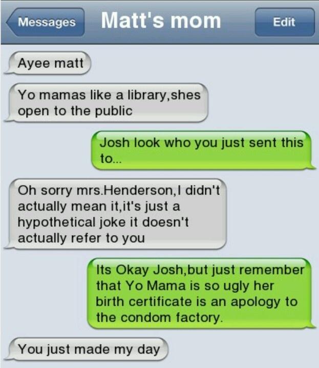 Yo Mama jokes Ur mama jokes Pinterest Funny Coffee Mugs Funny 623x720