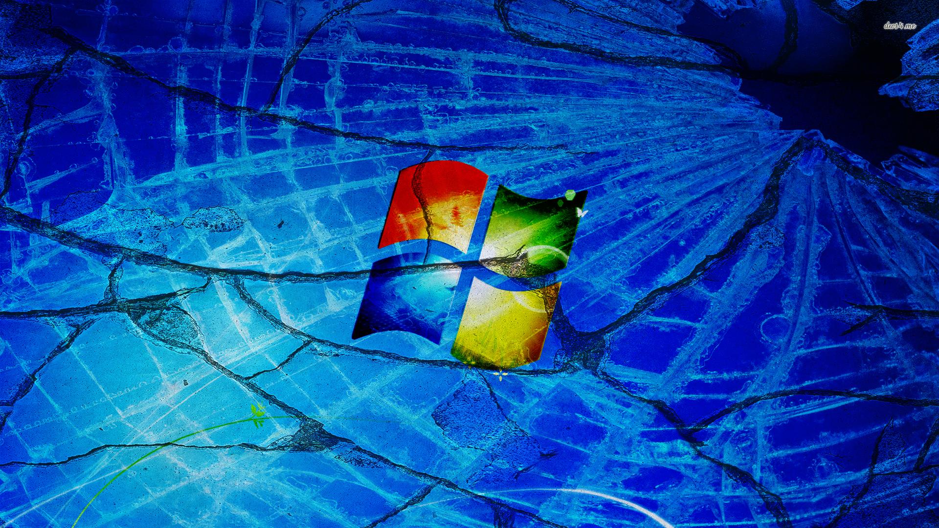 Cracked Windows 7 wallpaper 1280x800 Cracked Windows 7 wallpaper 1920x1080