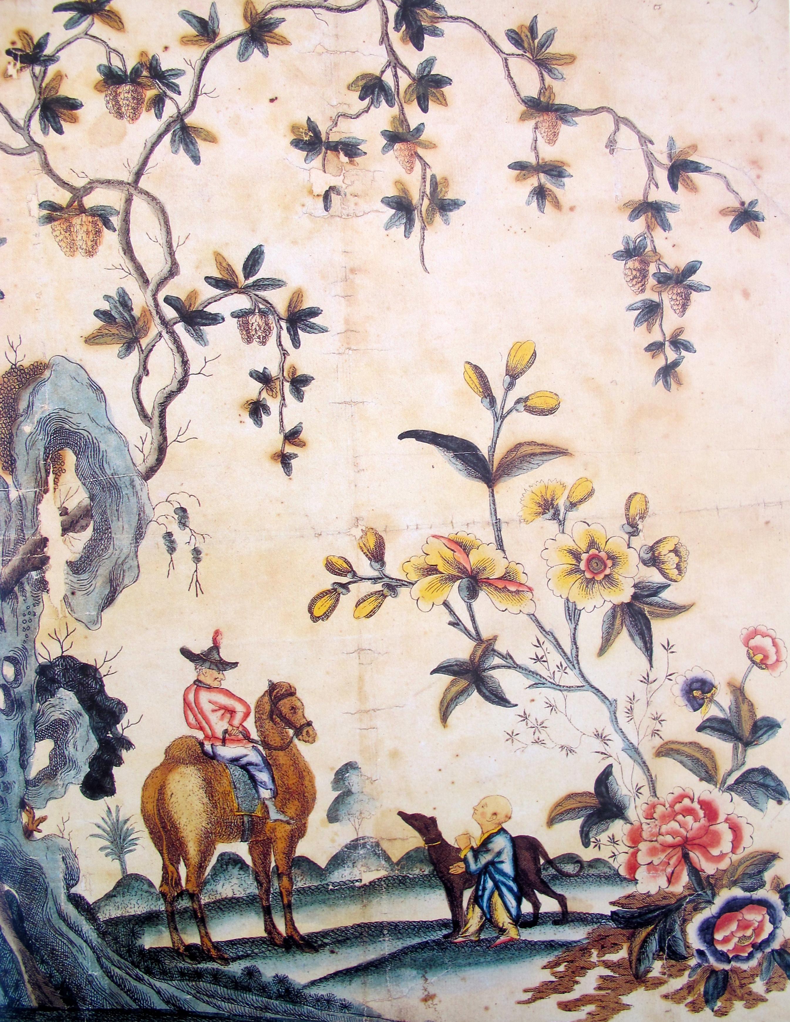 chinoiserie wallpaper 1770 English 2691x3481