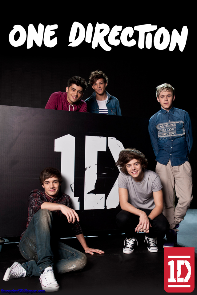 One Direction iPhone Wallpaper - 332.5KB