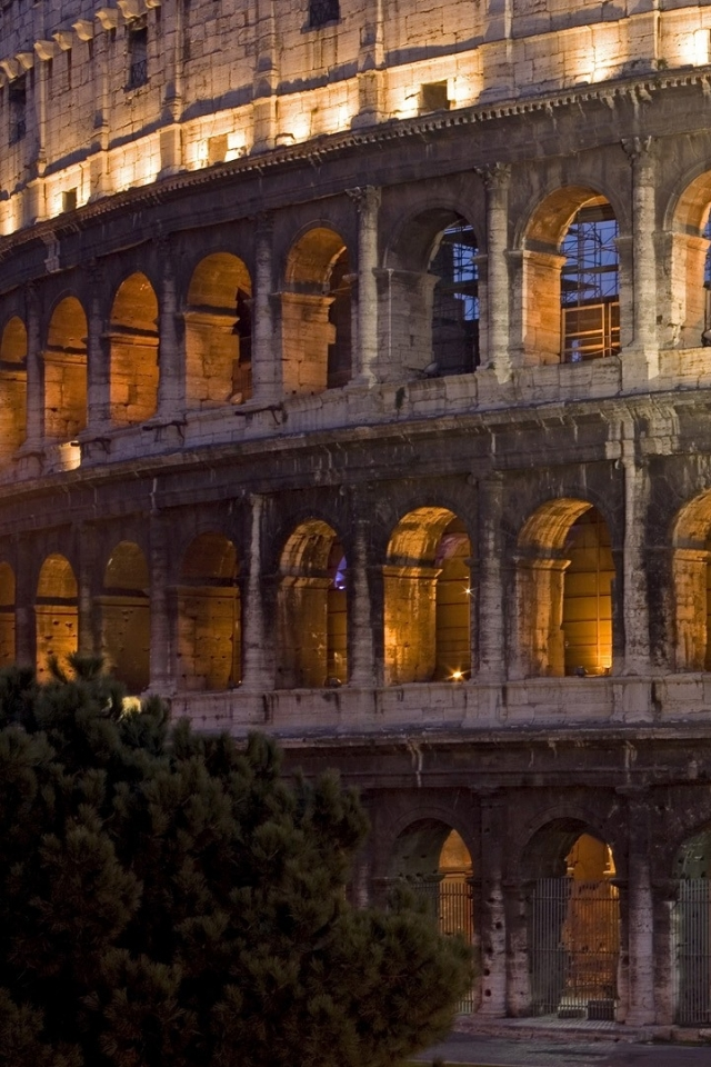 rome italy colosseum 1920x1080 wallpaper Wallpaper Wallpapers 640x960