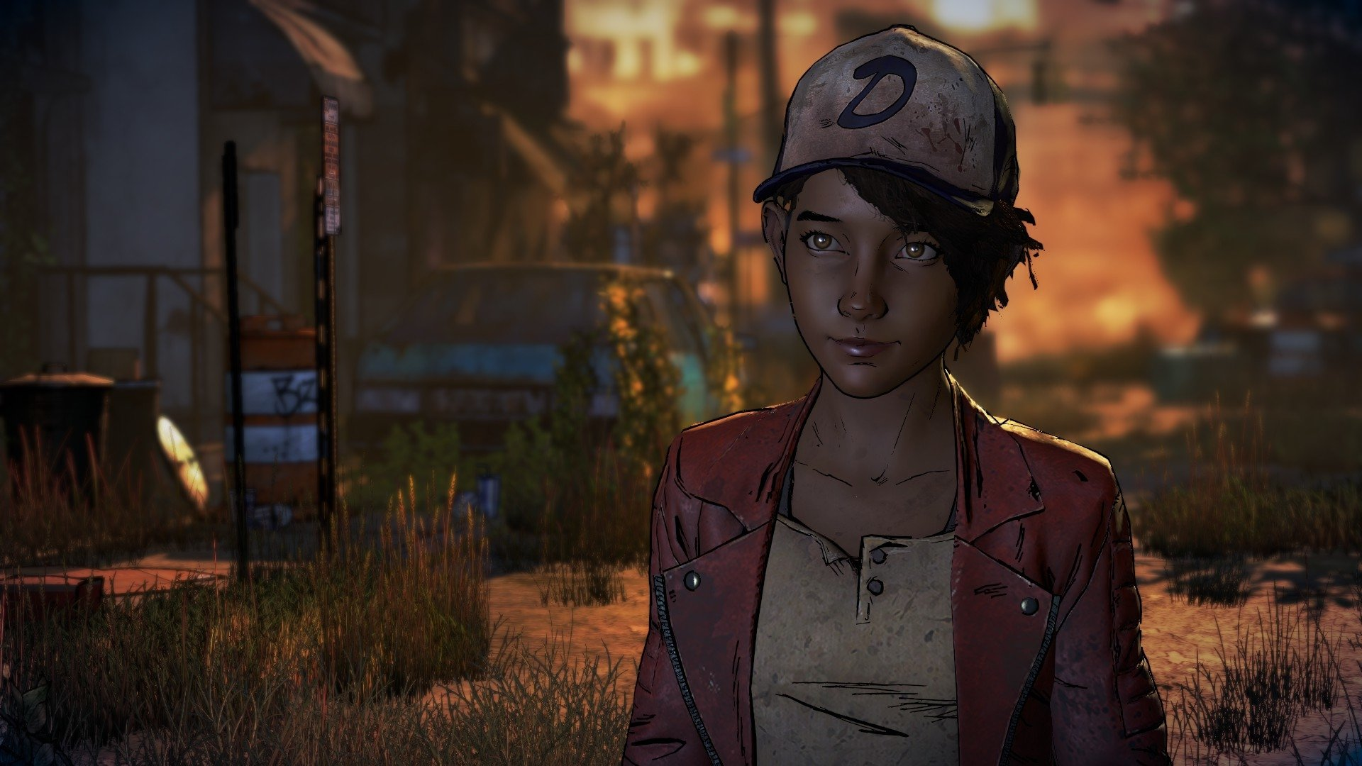 58 Clementine The Walking Dead HD Wallpapers Background Images 1920x1080