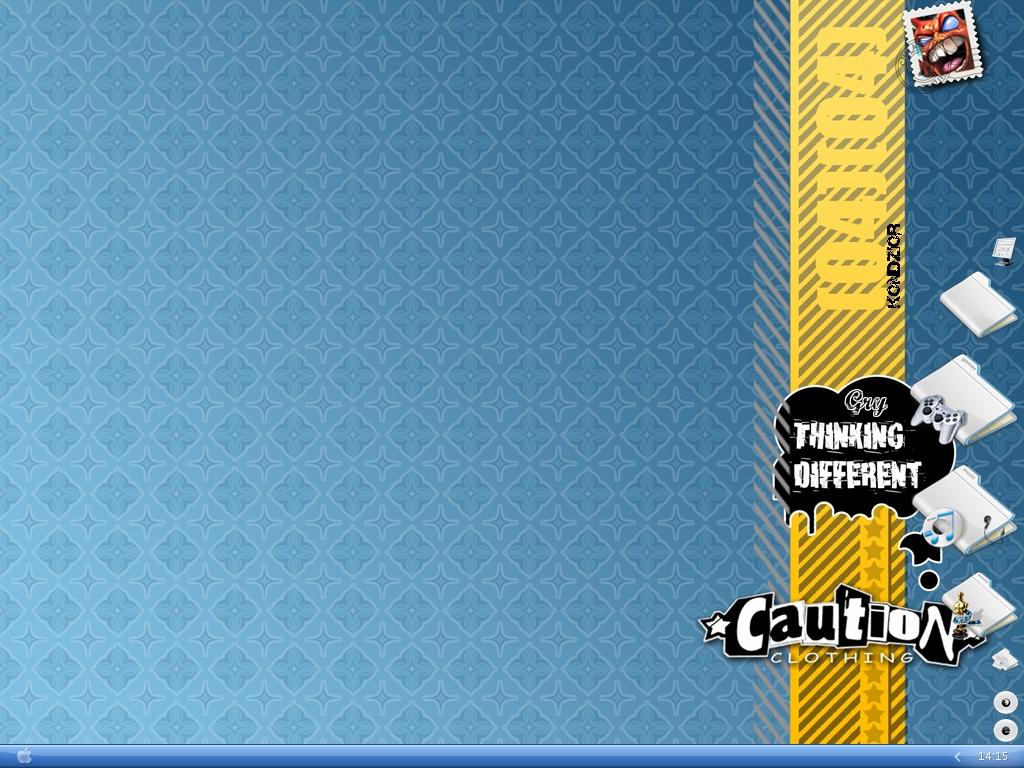 1024x768 Caution clothing desktop PC and Mac wallpaper 1024x768
