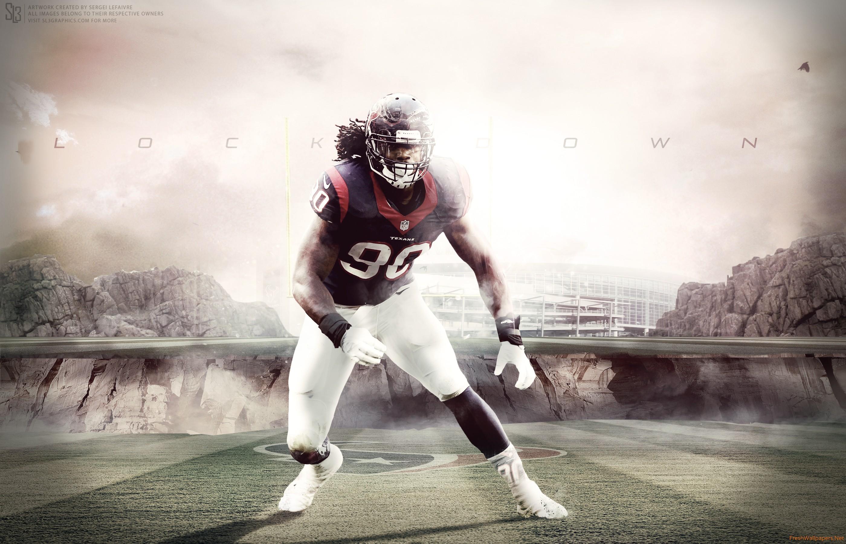 Jadeveon Clowney 2015 Houston Texans NFL wallpapers 2800x1800