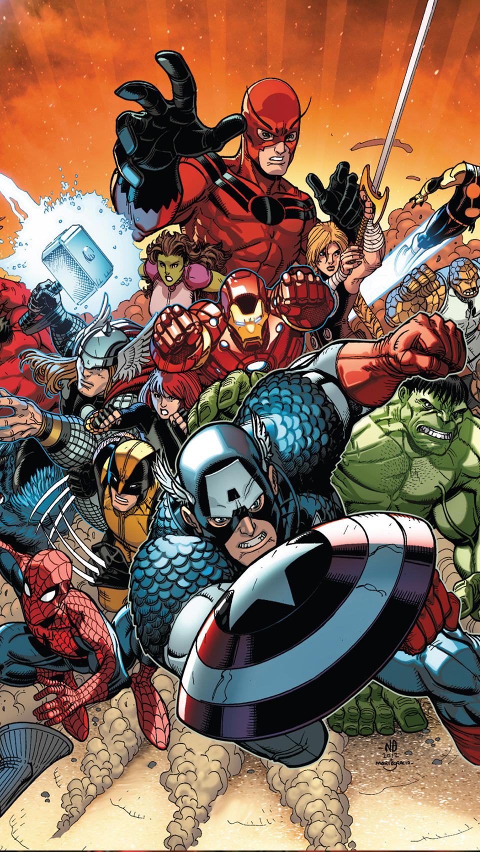 48+ Avengers Phone Wallpaper on WallpaperSafari