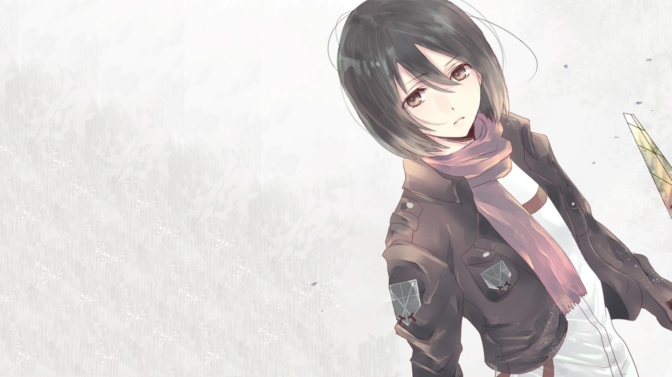 wallpapers mikasa ackerman hd - photo #29