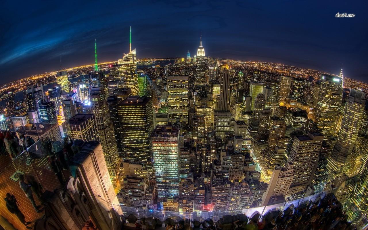New York City lights wallpaper   World wallpapers   18480 1280x800