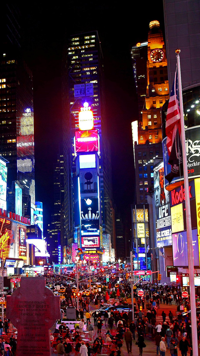 Times square new year wallpaper wallpapersafari - Times square background ...