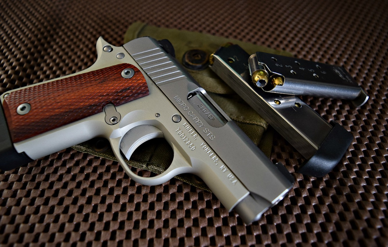Wallpaper gun Kimber Micro 380 both images for desktop section 1332x850