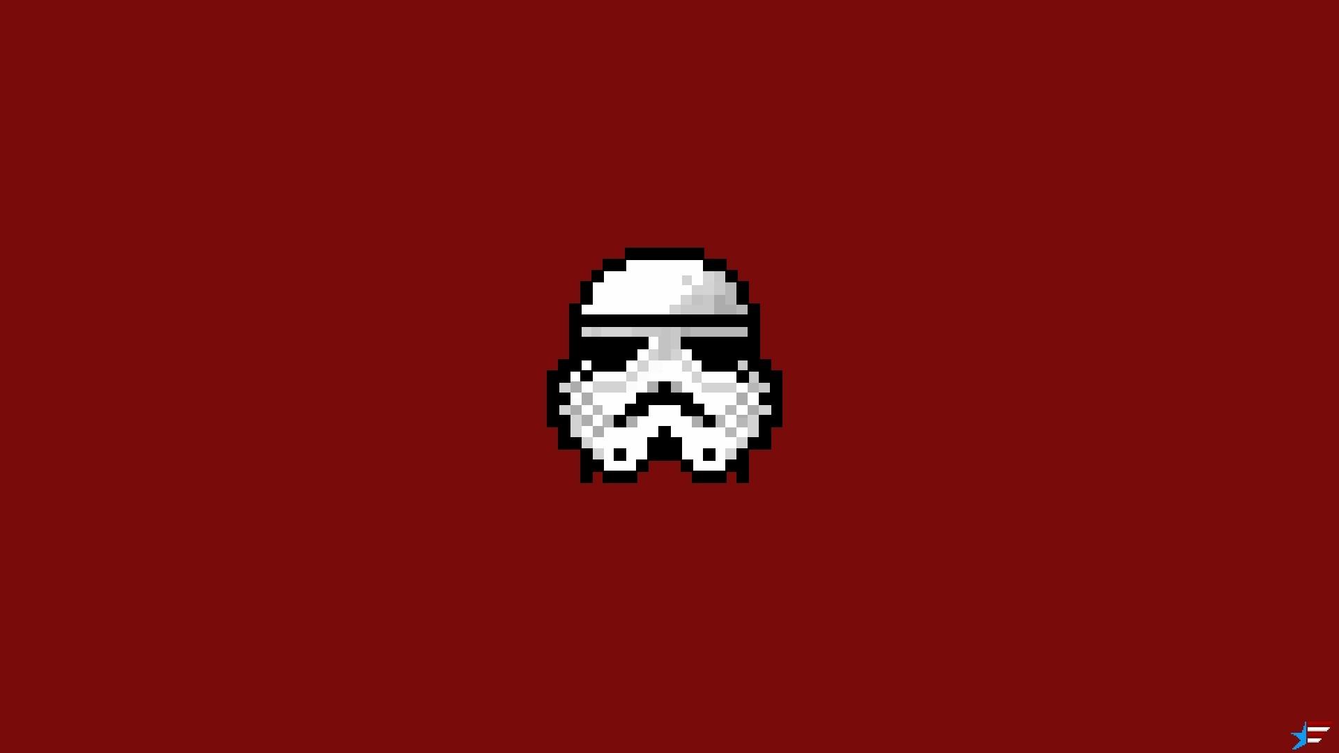 Wallpaper 8 bit 8bit pixelart pixel art stormtrooper storm 1920x1080