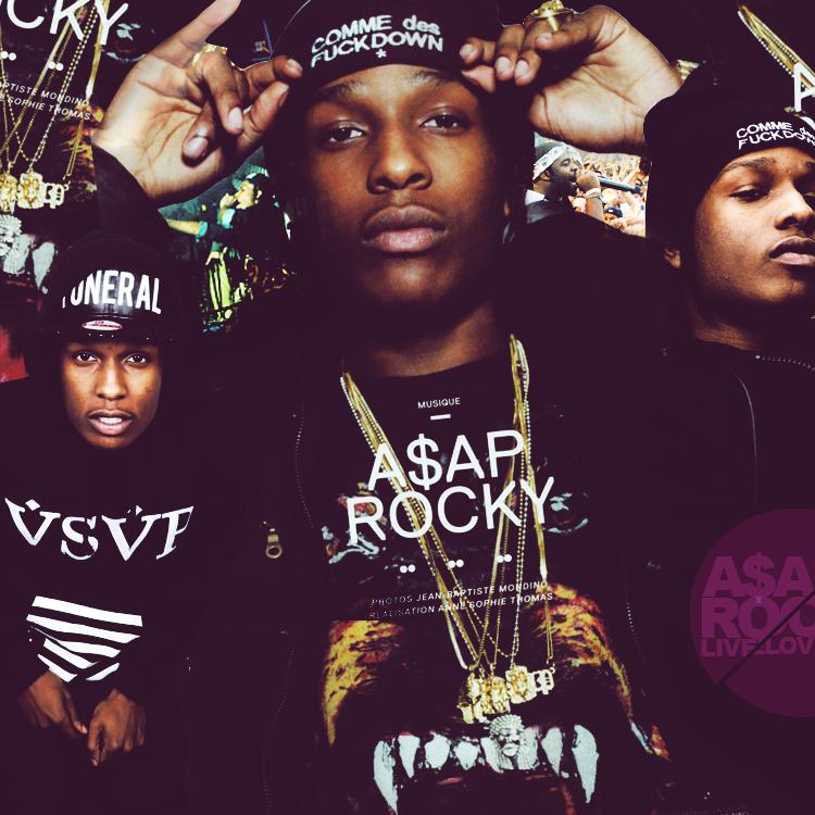 ASAP Rocky and ASAP Mob Rap Wallpapers 750x750