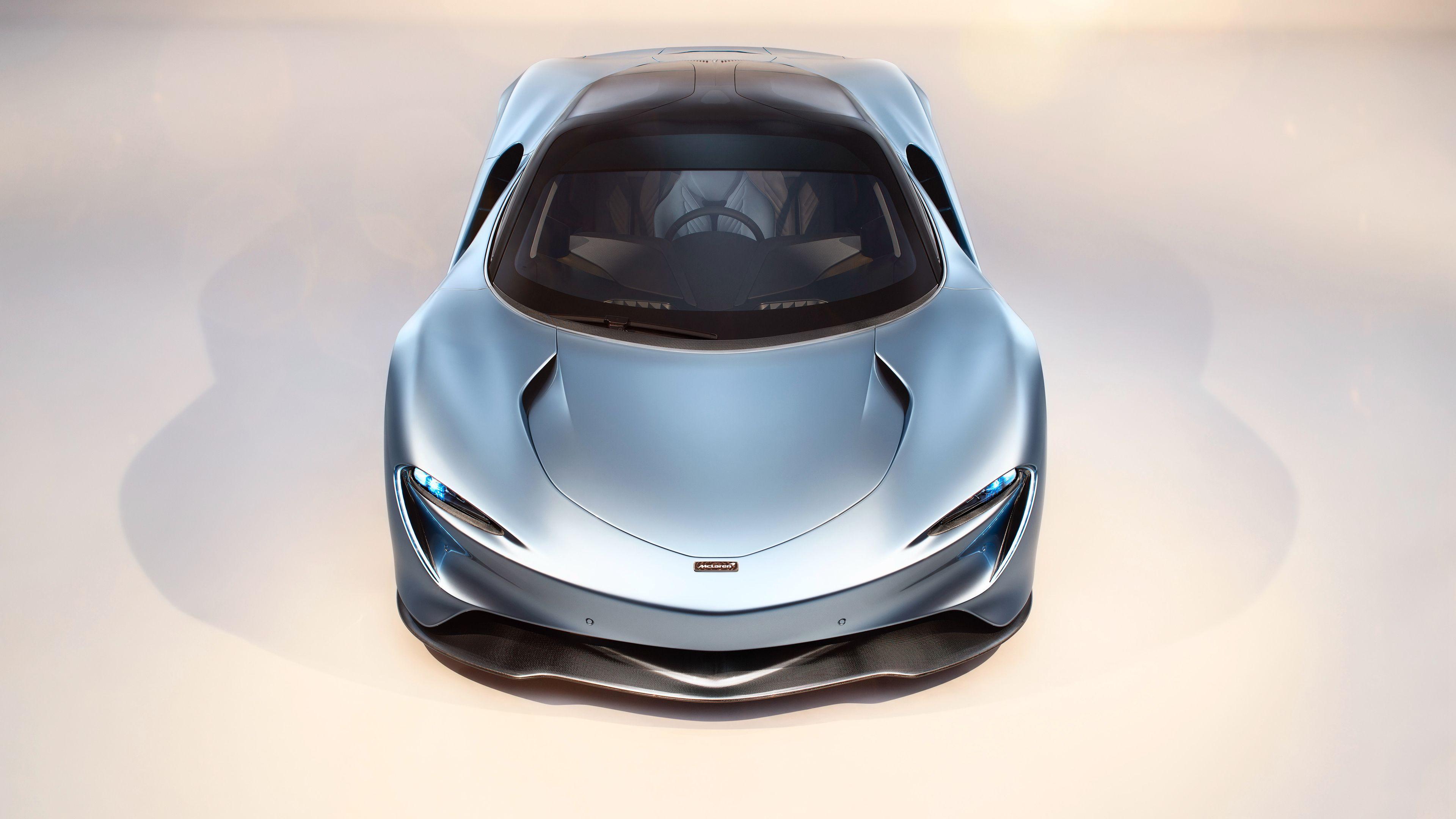 McLaren Speedtail Front 4k wallpaper mclaren speedtail wallpapers 3840x2160