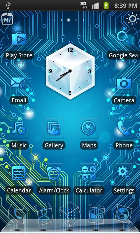 38 ] circuit board live wallpaper on wallpapersafaricircuit board 3d live theme screenshot 480x800