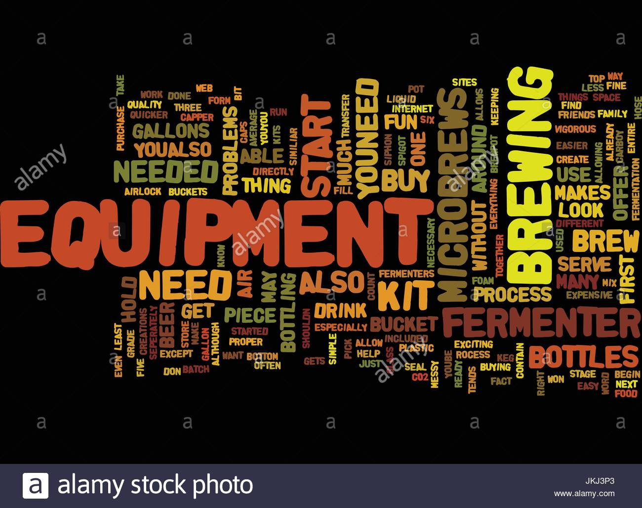 EQUIPMENT FOR MICROBREWS Text Background Word Cloud Concept Stock 1300x1028
