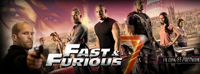 Fast And Furious 7 Wallpaper 851x315