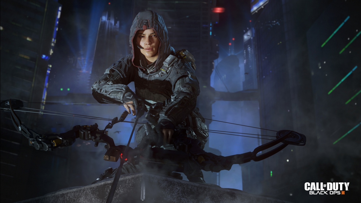 of Duty Black Ops 3 Specialist Outrider Wallpapers HD Wallpapers 1366x768