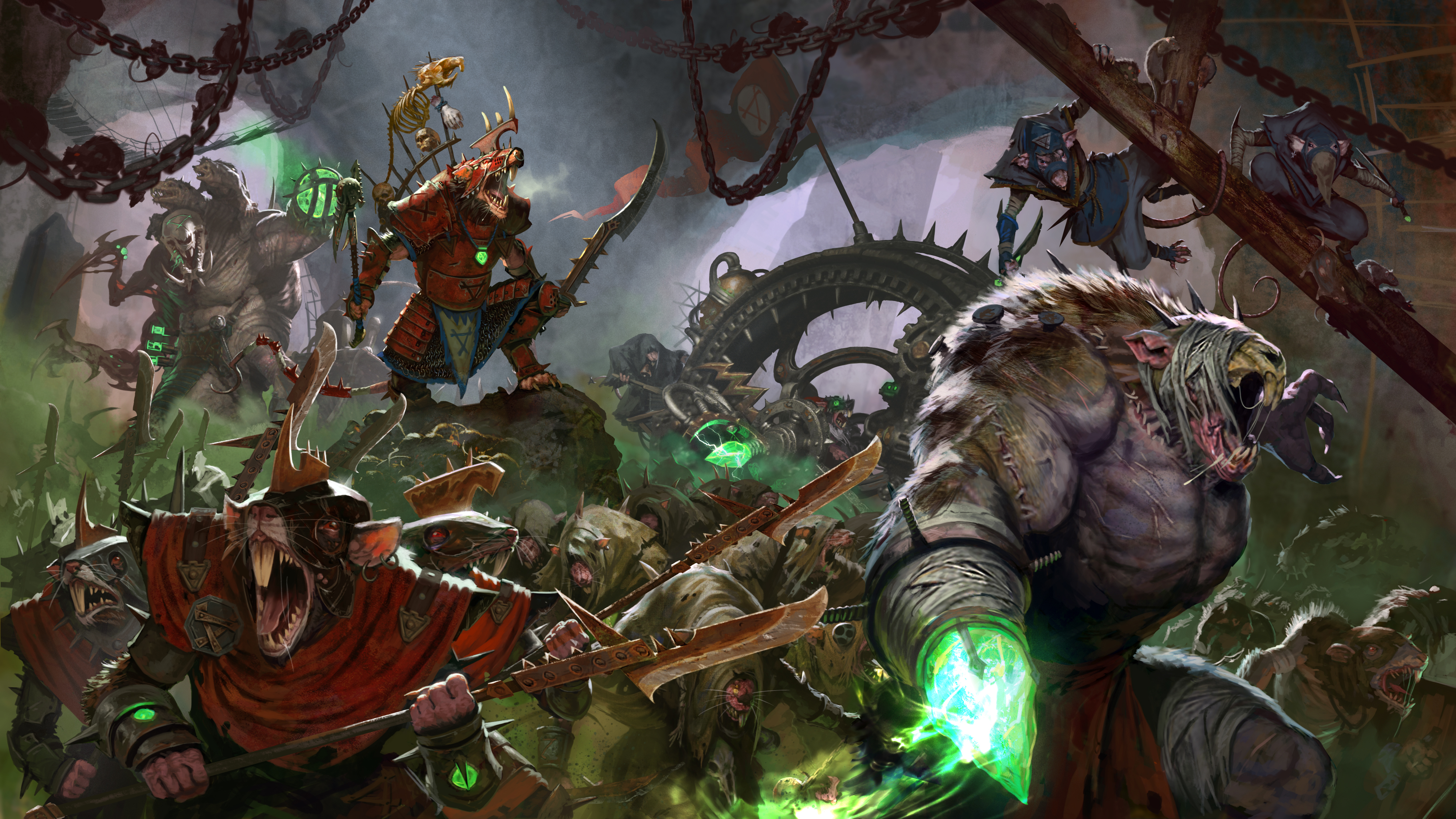 Total War Warhammer II 4k Ultra HD Wallpaper Background Image 4000x2250